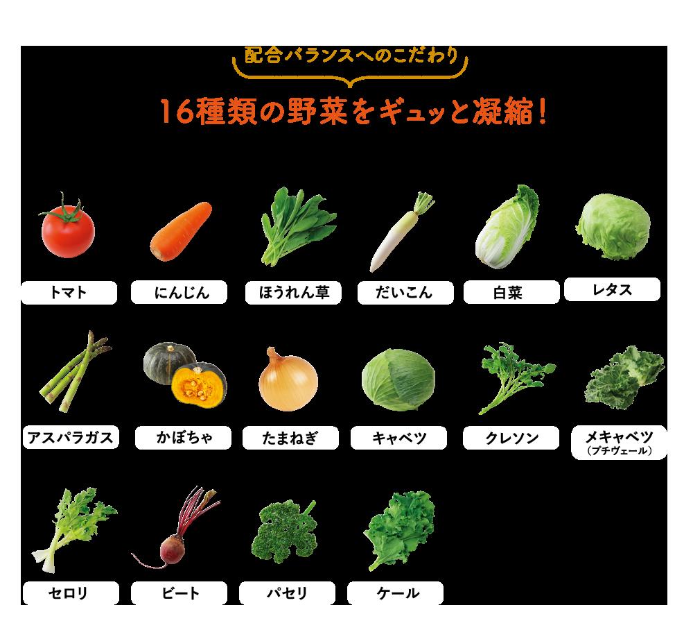 ジュース 野菜 世田谷 の 世田谷自然食品 十六種類の野菜の栄養価は?効果や口コミ、最安値販売店情報を徹底調査しました!